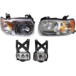 2001-2004 Ford Escape Headlight Replacement Ford Headlight KIT1-053017-67-B