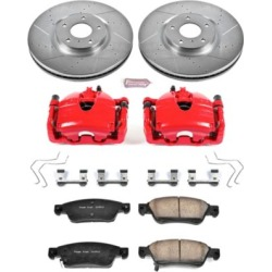 2008 Infiniti G35 Brake Disc and Caliper Kit Powerstop Infiniti Brake Disc and Caliper Kit KC3022B found on Bargain Bro India from autopartswarehouse.com for $443.87