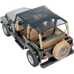 1992-1995 Jeep Wrangler (YJ) Summer Top Vertically Driven Products Jeep Summer Top 9295FJKB