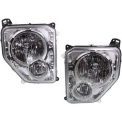 2008-2012 Jeep Liberty Headlight Replacement Jeep Headlight SET-ARBJ100101Q found on Bargain Bro India from autopartswarehouse.com for $410.62