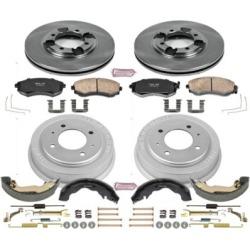 1997 Hyundai Elantra Brake Disc And Drum Kit Powerstop Hyundai Brake Disc And Drum Kit KOE15156DK