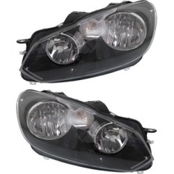 2010-2014 Volkswagen Jetta Headlight Replacement Volkswagen Headlight SET-REPV100189