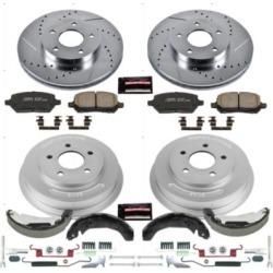 2009-2010 Pontiac G5 Brake Disc And Drum Kit Powerstop Pontiac Brake Disc And Drum Kit K15422DK