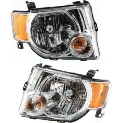 2008 Ford Escape Headlight Replacement Ford Headlight SET-ARBF100105