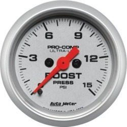 Boost Gauge Autometer  Boost Gauge 4350