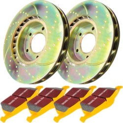 1996-1998 Audi A4 Brake Disc and Pad Kit EBC Audi Brake Disc and Pad Kit S5KR1333 found on Bargain Bro Philippines from autopartswarehouse.com for $222.24