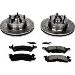 1969-1972 Buick Skylark Brake Disc and Pad Kit Powerstop Buick Brake Disc and Pad Kit K2579 found on Bargain Bro Philippines from autopartswarehouse.com for $197.08