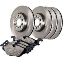 2003-2011 Lincoln Town Car Brake Disc and Pad Kit Centric Lincoln Brake Disc and Pad Kit 905.61043