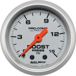 Boost Gauge Autometer  Boost Gauge 4302