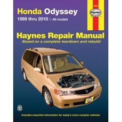 1999-2010 Honda Odyssey Repair Manual Haynes Honda Repair Manual 42035