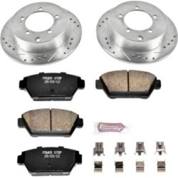 1991-1994 Eagle Talon Brake Disc and Pad Kit Powerstop Eagle Brake Disc and Pad Kit K684