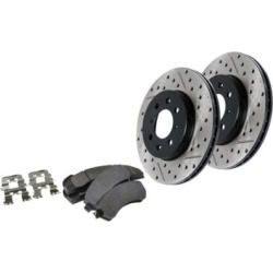 2006 BMW 330Ci Brake Disc and Pad Kit StopTech BMW Brake Disc and Pad Kit 978.34018F found on Bargain Bro India from autopartswarehouse.com for $355.16