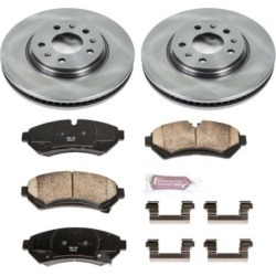2003 Cadillac Seville Brake Disc and Pad Kit Powerstop Cadillac Brake Disc and Pad Kit KOE2974 found on Bargain Bro Philippines from autopartswarehouse.com for $128.46