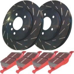 2008-2015 Smart Fortwo Brake Disc and Pad Kit EBC Smart Brake Disc and Pad Kit S4KF1107