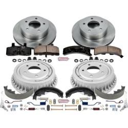 1990-2002 Chevrolet Astro Brake Disc And Drum Kit Powerstop Chevrolet Brake Disc And Drum Kit KOE15048DK