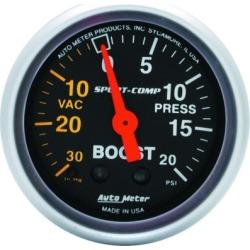 Boost Gauge Autometer  Boost Gauge 3301