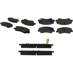 2012-2016 Hyundai Accent Brake Pad Set Centric Hyundai Brake Pad Set 105.15930