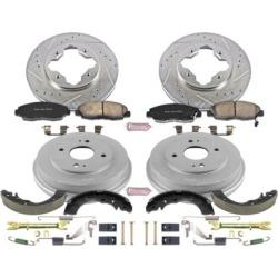 1994-1997 Honda Accord Brake Disc And Drum Kit Powerstop Honda Brake Disc And Drum Kit K15105DK
