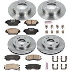 1991-1994 Eagle Talon Brake Disc and Pad Kit Powerstop Eagle Brake Disc and Pad Kit KOE682