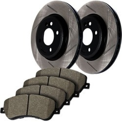 1996-1999 Acura SLX Brake Disc and Pad Kit StopTech Acura Brake Disc and Pad Kit 937.43004 found on Bargain Bro Philippines from autopartswarehouse.com for $220.36