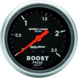 Boost Gauge Autometer  Boost Gauge 3404-J