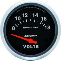Voltmeter Autometer  Voltmeter 3592 found on Bargain Bro India from autopartswarehouse.com for $67.95