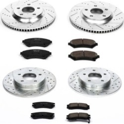 1997-1999 Buick Riviera Brake Disc and Pad Kit Powerstop Buick Brake Disc and Pad Kit K1543 found on Bargain Bro Philippines from autopartswarehouse.com for $265.94
