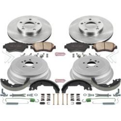 1998-2003 Toyota Sienna Brake Disc And Drum Kit Powerstop Toyota Brake Disc And Drum Kit KOE15179DK