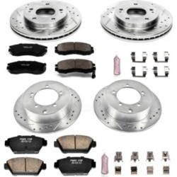 1991-1994 Eagle Talon Brake Disc and Pad Kit Powerstop Eagle Brake Disc and Pad Kit K682