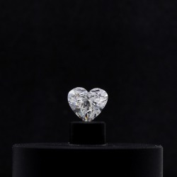 0.90 Carat - Heart Cut Loose Diamond, SI2 Clarity, G Color, Very Good Cut found on Bargain Bro India from B2C Jewels for $2942.00