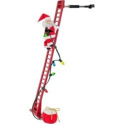 Mr. Christmas Animated Climbing Santa Decor found on Bargain Bro India from BeallsFlorida for $169.99