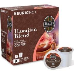Keurig K-Cup Tullys Hawaiian Blend Coffee 18-pk.