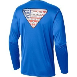Columbia Mens Terminal Tackle PFG Triangle Flag T-Shirt found on Bargain Bro India from BeallsFlorida for $34.99