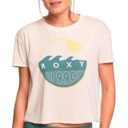 Roxy Juniors Recipe For Happiness B Cropped T-Shirt