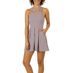 Speechless Juniors Caged Neck Fit   Flare Dress found on MODAPINS from  BeallsFlorida for USD  54.00 d76de6352