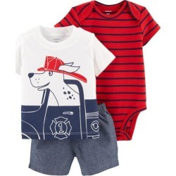 Carters Baby Boys 3-pc. Firefighter Layette Set