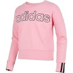 Adidas Big Girls Long Sleeve 3-Stripe Sweatshirt found on Bargain Bro from BeallsFlorida for USD $30.40
