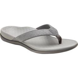 Vionic Womens Tide Rhinestone Thong Sandals