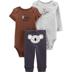 Carters Baby Boys 3-pc. Baby Bear Koala Clothing Set