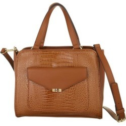 Tommy Hilfiger Tessa Crocodile Double Handle Satchel Handbag found on Bargain Bro Philippines from BeallsFlorida for $138.00