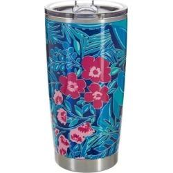 Lillie Green 20 oz. Stainless Steel Floral Prep Tumbler