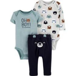Carters Baby Boys 3-pc. Bear Layette Set