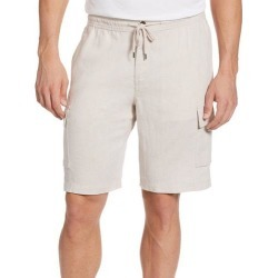 Cubavera Mens Solid Linen Blend Cargo Shorts found on Bargain Bro India from BeallsFlorida for $60.00
