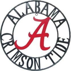 Alabama Crimson Tide 24'' Wrought Iron Wall Decor found on Bargain Bro India from BeallsFlorida for $69.99
