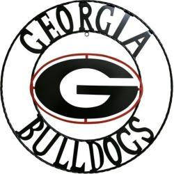 Georgia Bulldogs 18'' Wrought Iron Wall Decor found on Bargain Bro India from BeallsFlorida for $49.99