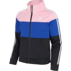 Adidas Big Girls Colorblock Tricot Jacket