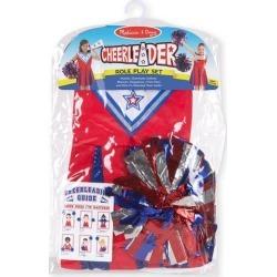 Melissa & Doug Cheerleader Role Play Costume Set