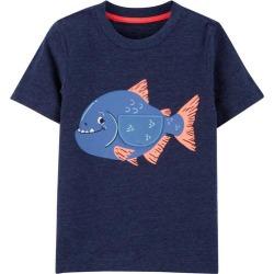 Carters Toddler Boys Chomp Chomp Fish T-Shirt