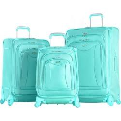 Olympia Luggage Luxe 3-pc. Luggage Set