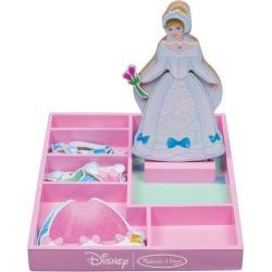Melissa & Doug Disney Cinderella Magnetic Dress-Up Set